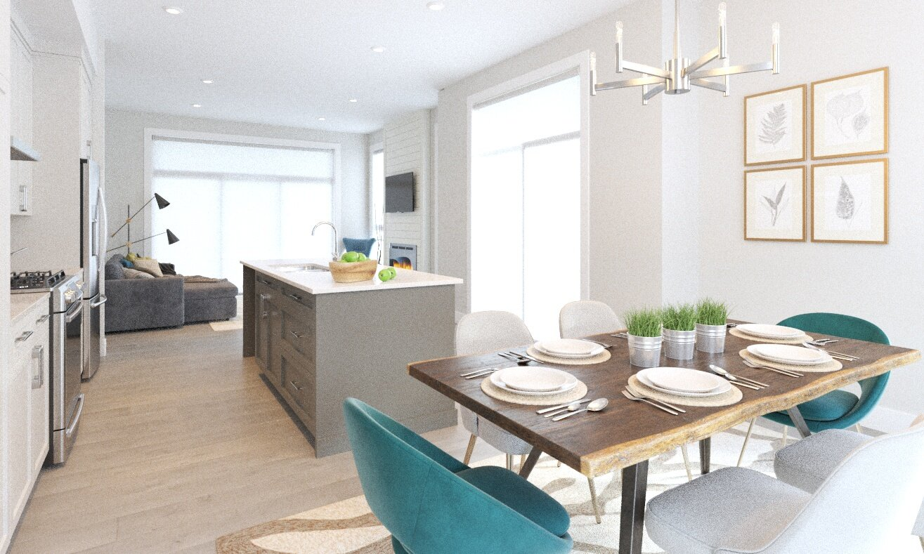 Now Selling: Rowhomes 2 in Webster Crossing