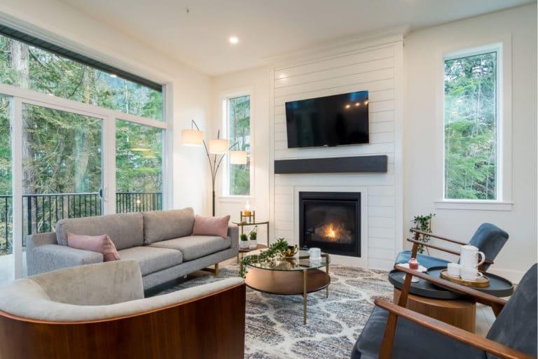 Cascade duplexes living room